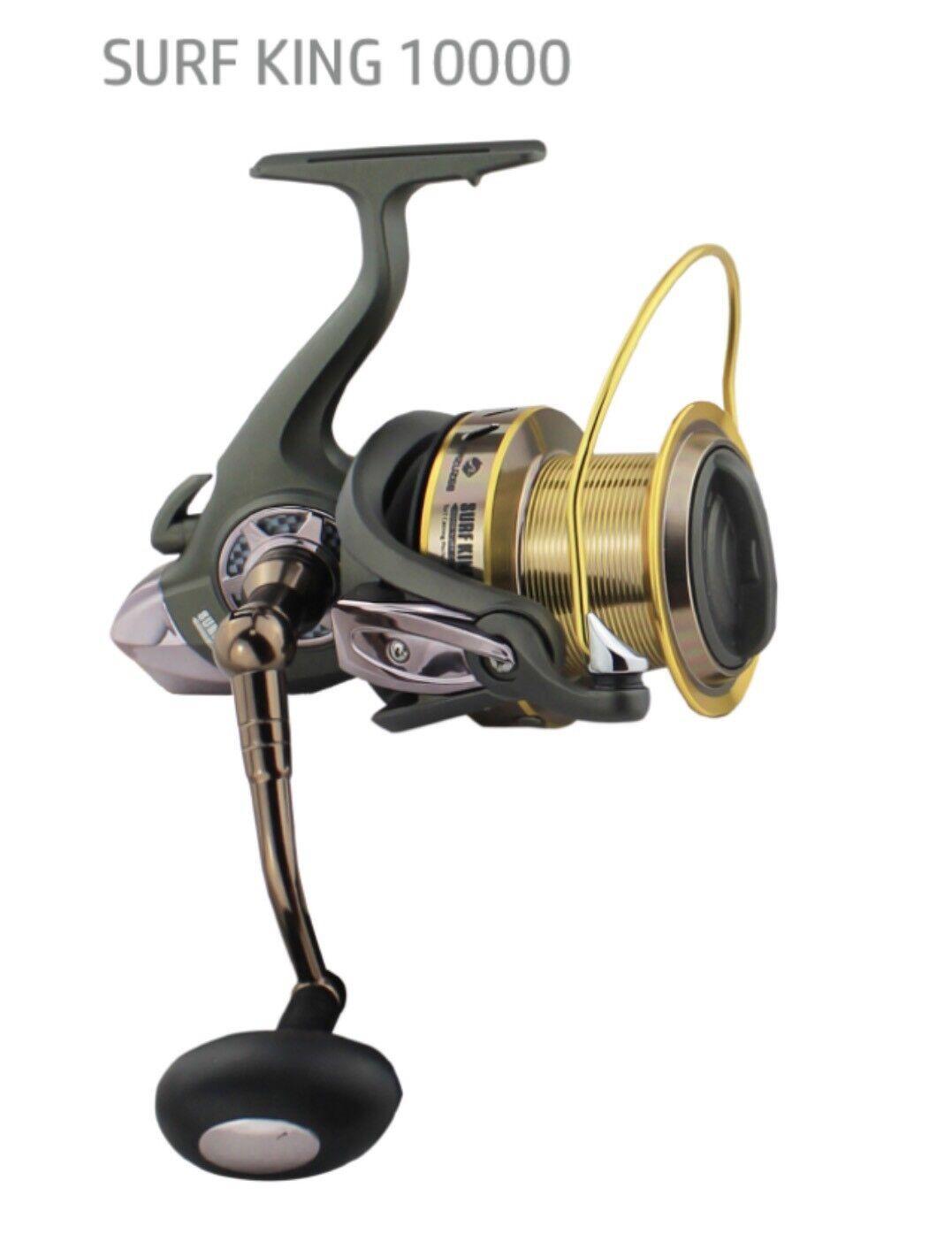 SURF KING 10000 Spining Spining 10000 Fishing Reel BR Bite N Run Freespool / Fishing Gear 8ad75b