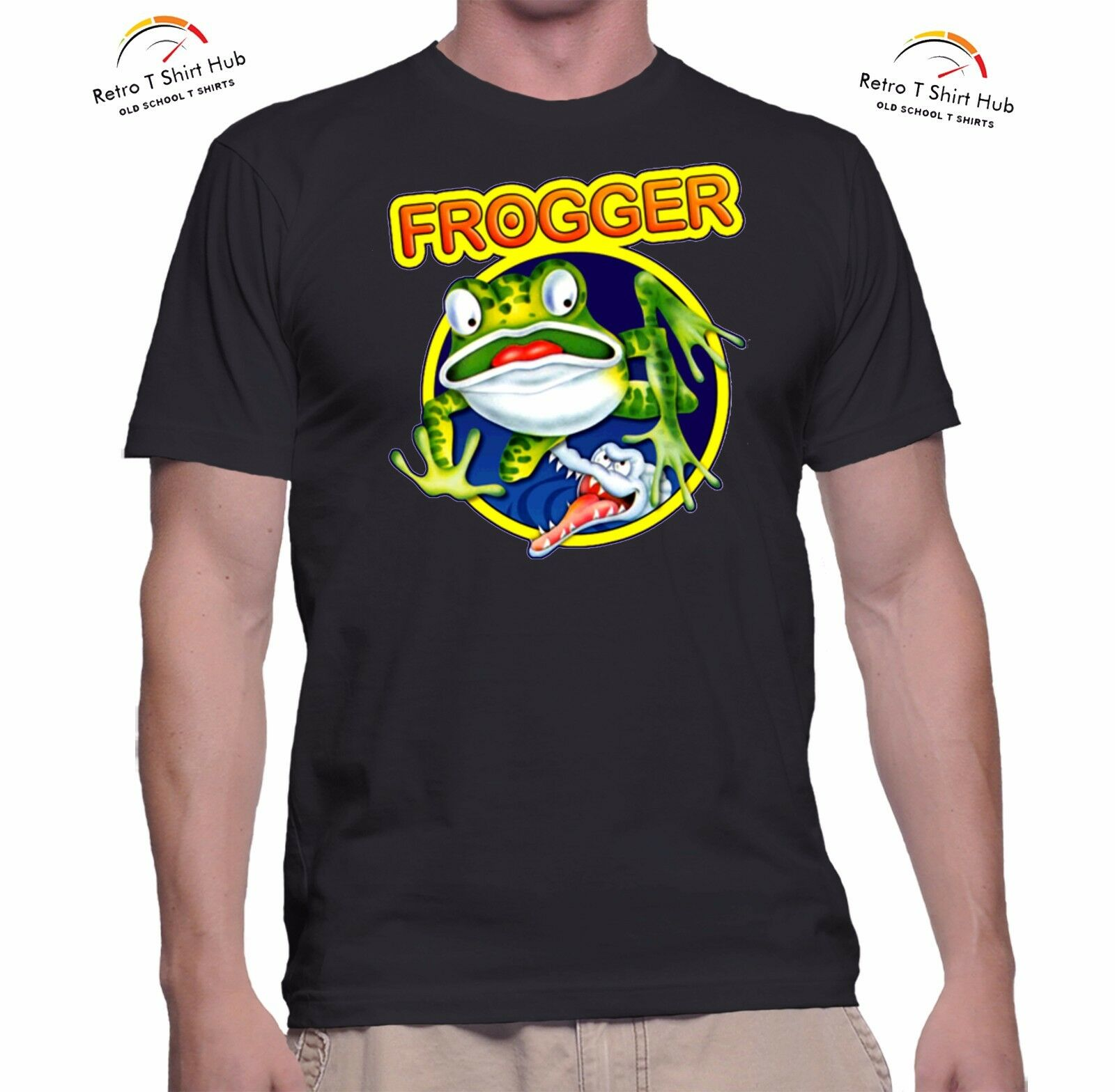Frogger T-shirt for Men - Brand New - S to 2XL