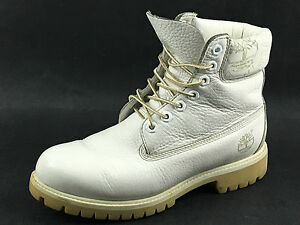 Timberland-17565-White-All-leather-6-034-Premium-Boots-Size-7-5-US-UK-7-EU-40-41