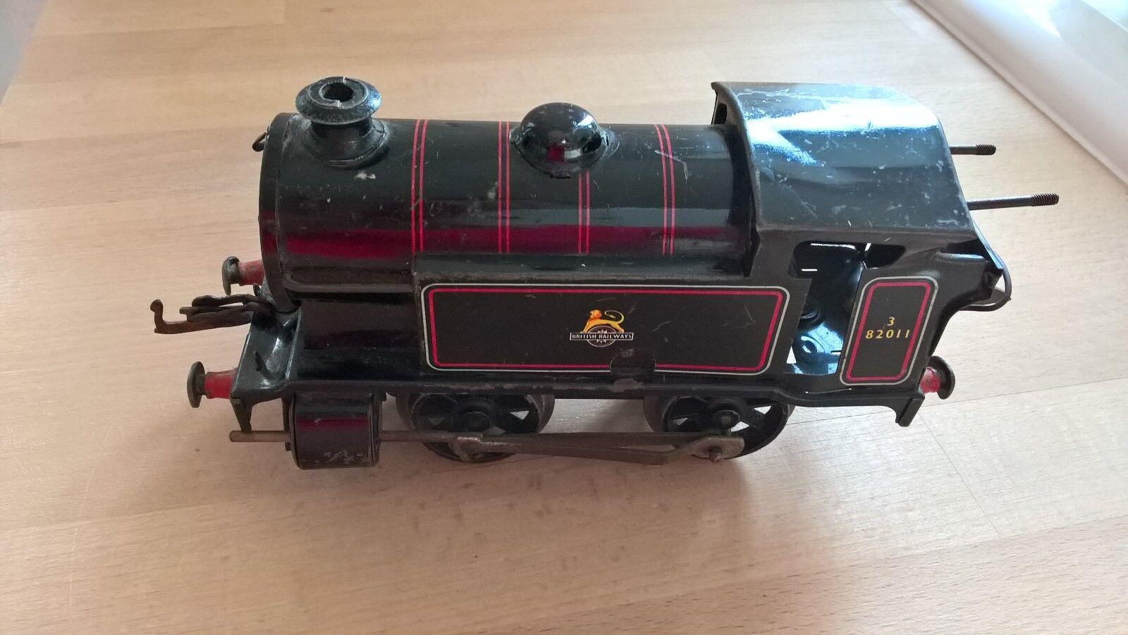 Meccanno Reloj trabajo TIN TRAIN con llave Hecho en en en Inglaterra Vintage 0dda7a