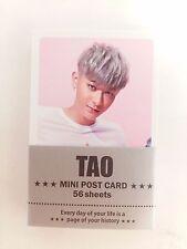 TAO EXO XOXO Photo Mini Post Card 56 Sheets KPOP Korean Pop Star Music