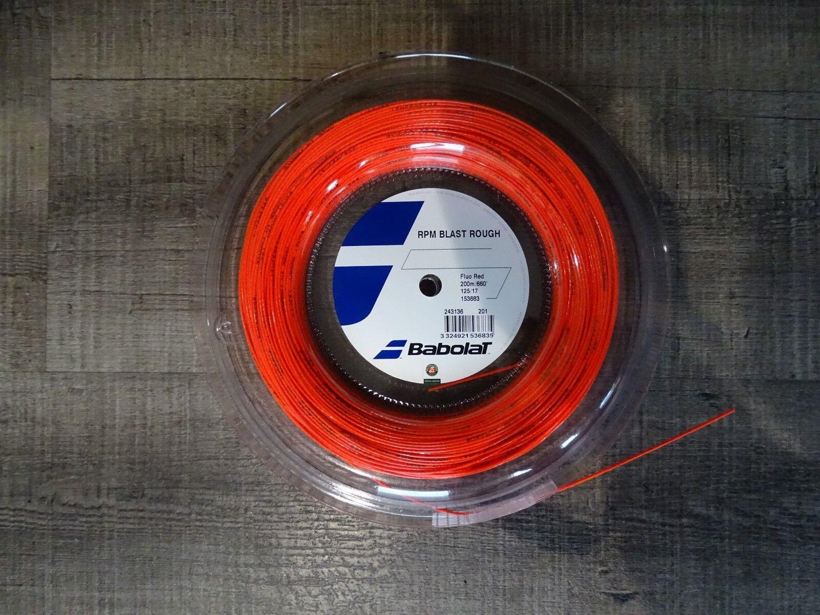 Babolat RPM RPM RPM BLAST ROUGH Fluo rot 200m 1,30mm df1c1d