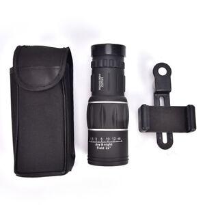 16x52-Zoom-Hiking-Monocular-Telescope-Lens-Camera-HDScope-Hunting-Phone-HolderBI