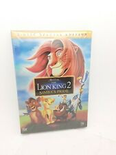 The Lion King 2 Simba S Pride Special Edition For Sale Online Ebay