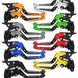 Folding Extending Clutch Brake Levers for Yamaha YFZ 350 Banshee 2002-2008 CNC