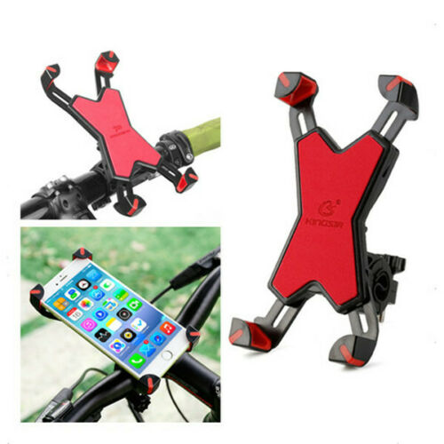 PVC Bicycle Holder MTB Motorcycle Bike Handlebar For Cell Phone GPS Mount