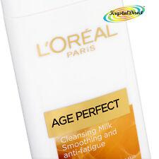 Loreal Age Perfect Vitamina C Anti Fatiga magnesio Face Cleansing Milk 200ml