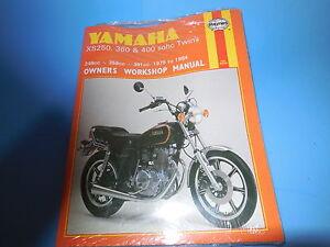 yamaha xs360 xs400 service manual