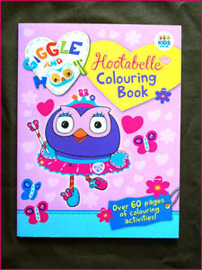 Image Is Loading HOOTABELLE GIGGLE Amp HOOT ACTIVITY COLOURING IN