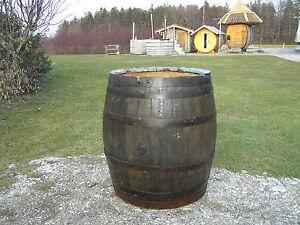 Regentonne Wasserfass 500l Holzfass Weinfass Eichenfass Ebay