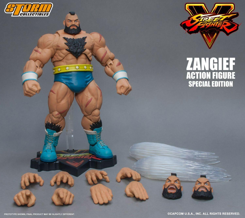 rue Fighter V  Zangief Action Figure  haute qualité et expédition rapide