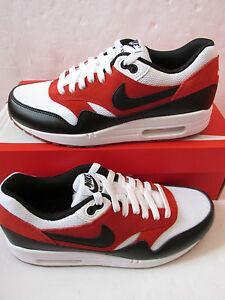 Detalles de Nike Air Max 1 esencial para hombre formadores 537383 122 Zapatillas Zapatos ver título original