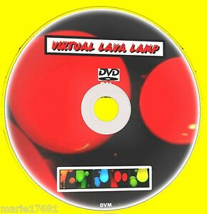 Details about VIRTUAL LAVA LAMP ON TV MULTI COLOUR & SOUND EFFECTS SOOTH &  RELAXING DVD NEW