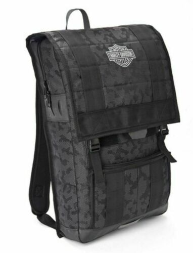 Harley-Davidson 24//7 Nightvision Multi-Functional Backpack Black 99217