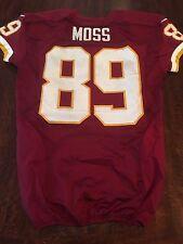 Washington Redskins Santana Moss Game Used Worn 2013 Jersey MeiGray Photo Match!