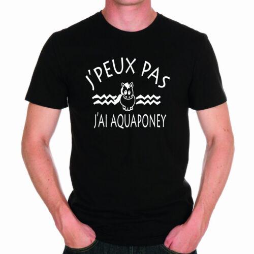 shirt Pas J'peux T J'ai Aquaponey Homme SPYx7ZW