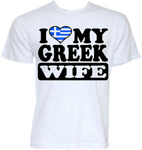 Details about GREECE GREEK T-SHIRTS GIFTS MENS FUNNY COOL NOVELTY JOKE RUDE  WIFE FLAG T-SHIRT