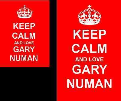Gary Numan 35x50mm Keyring