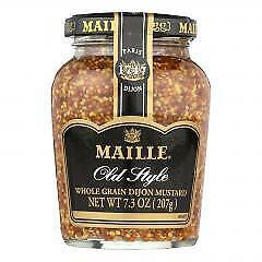 Maille Old Style Whole Grain Dijon Mustard - Case of 6 - 7.3 oz.