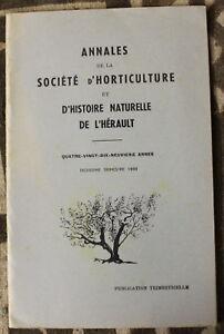 Horticulture & Histoire Naturelle De L'hérault ✤ Annales / N°3 De 1959 Xlzjk4ee-07175808-358971683