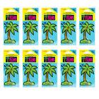 10 x California Scents PALM TREE Car Air Freshener Freshner - LAGUNA BREEZE