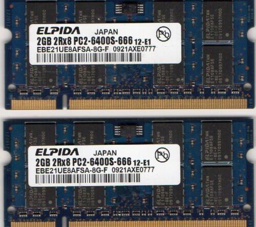4GB 2x 2GB Kit Sony Vaio PCG-384L//PCG 391L//PCG 392L//PCG 393L//PCG 394L Memory