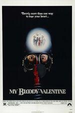 My Bloody Valentine movie poster (b) My Bloody Valentine poster Horror