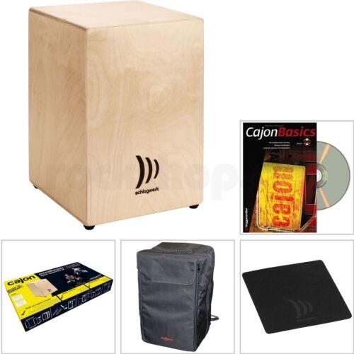 CD Lern Buch Sitz Pad Schlagwerk My Cajon CBA1S Schnell Bausatz mit Tasche