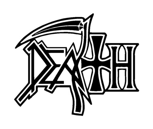 Death Metal Band Vinyl Decal Car Window Laptop Extreme Metal Sticker