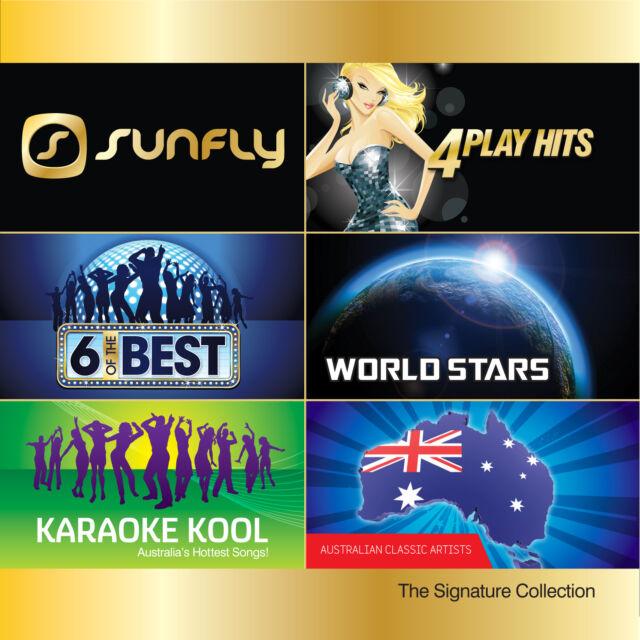 DOWN UNDER POP HITS VOLUME 1 DISC SUNFLY KARAOKE CD+G