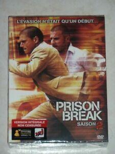 COFFRET NEUF - DVD SERIE : PRISON BREAK : SAISON 2 INTEGRALE VERSION NON CENSURE