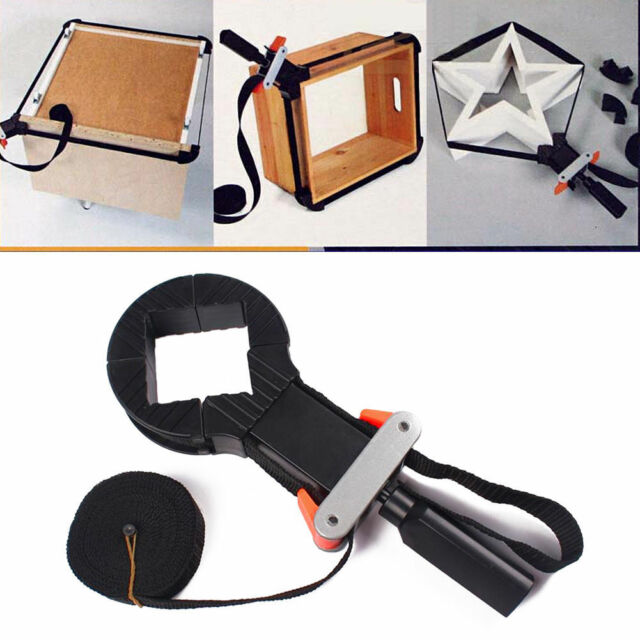 4 Jaws Band Rapid Corner Clamp Strap Holder For Woodworking Drawer Picture Frame