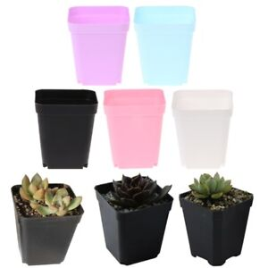office planter. Image Is Loading Colorful-Square-Plastic-Plant-Flower-Pot-Planter-Home- Office Planter