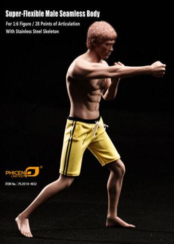 TBLeague Phicen M30 M31 M32 M33 M34 1//6 Seamless Male Muscular Body Steel Figure