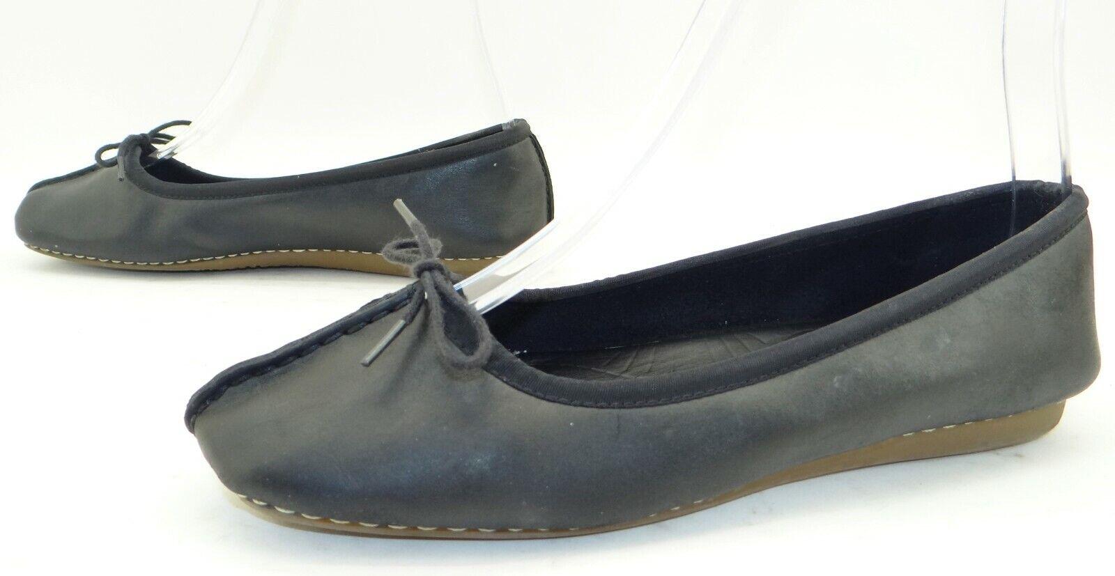 CLARKS Damen Sommer Schuhe Ballerinas Slipper Damenschuhe Flats Gr. 39 Leder