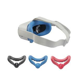 Soft-Glasses-Eye-Mask-Cover-Schweissfester-Helm-Set-fuer-Oculus-Quest-2-VR-Headset