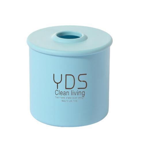 FE Plastic Tissue Box Cover Cylindrical Paper Case Holder Storage Home Decor Su