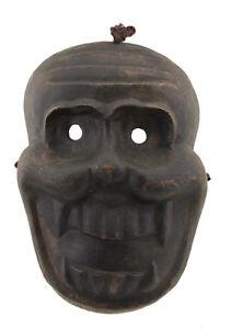 Antico-Maschera-Rame-Tibetano-Nepal-Citipati-Testata-Da-Morto-Rituale-Tantrico