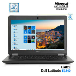 Dell-latitude-E7240-Laptop-Intel-Core-i5-4th-Gen-2-9GHz-16G-RAM-512GB-NEW-SSD-PC