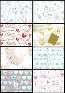 ANNIVERSARY-WEDDING-DAY-or-ENGAGEMENT-Wrapping-Paper-and-Gift-card