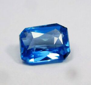 Natural-Certified-Princess-Cut-3-Cts-Transparent-Blue-Aquamarine-Loose-Gemstone