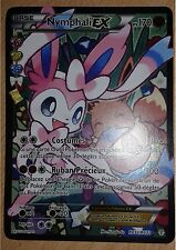 Carte Nymphali EX XY Génération Pokemon ultra rare RC 32 booster display deck