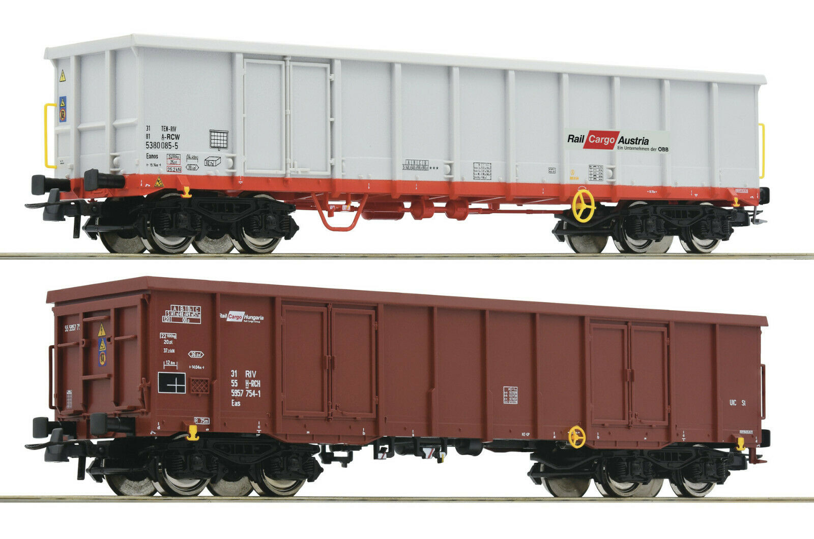 Roco H0 76076 Freight Car Set with Bundles of Wood the ÖBB   Novelty 2019 New