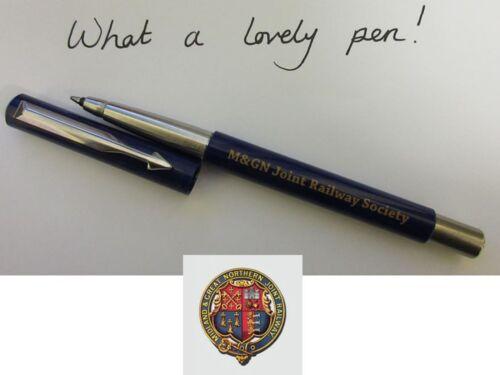 M/&GN inscribed Parker Vector Roller Pen