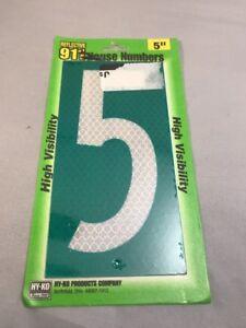 911 Reflective Address Plate Hy-Ko Prod