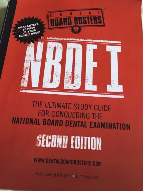 Dental Board Busters NBDE II Second Edition : The Ultimate Study Guide for  Conquering the National Board Dental Examination, Part Two by Rick J  Rubin