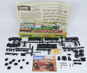 KITMASTER 24 MODEL RAILWAY CITY OF TRURO STEAM LOCO. UNMADE COMPLETE WITH DECALS