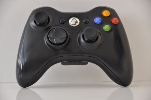 Official Microsoft xbox 360 Wireless Controller (Glossy Black)