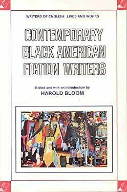 Contemporary Black American Fiction Writers Paperback Harold Bloom