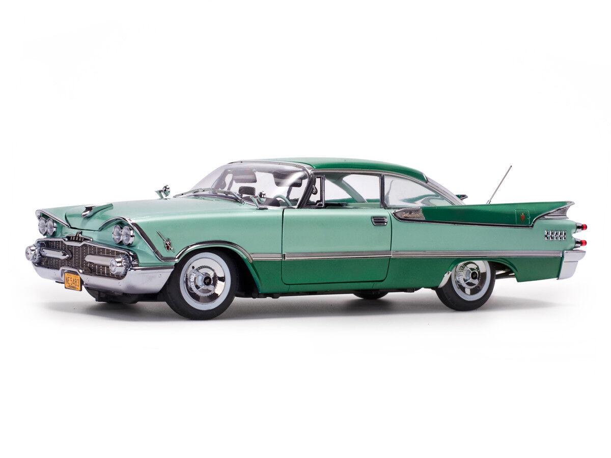 tomamos a los clientes como nuestro dios 1959 Dodge Royal Lancer 500 verde 1 1 1 18 SUNEstrella 5483  solo cómpralo